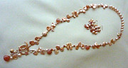 Peach Jewelry Originals - Gypsy Rose Moon Set by Marta Eagle