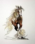 Gypsy Originals - Gypsy Vanner Stallion by BJ Redmond