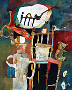   Of Pianos Paintings - h as in Harold by Roger Phillpot