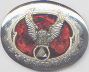 Belt Buckle Jewelry - H Eagle AA buckle by John Maringola