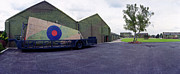 Military Base Photo Originals - H-P Hastings Wing RAF Elvington by Jan Faul