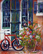 Gertrude Palmer Metal Prints - Habersham Shop Metal Print by Gertrude Palmer