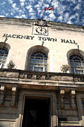 Hackney Prints - Hackney town hall Print by Jez C Self