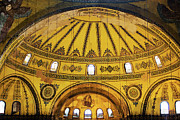 Byzantine Photo Framed Prints - Hagia Sophia Architecture Framed Print by Artur Bogacki