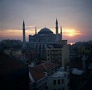Byzantine Prints - Hagia Sophia Print by Dean Robinson