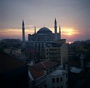 Hagia Sophia Print by Dean Robinson