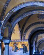 Turkey Metal Prints - Hagia Sophia Detail Metal Print by Alan Toepfer