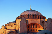 Byzantine Photos - Hagia Sophia in Istanbul by Artur Bogacki