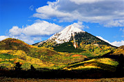 Colorado Mountains Framed Prints Prints - Hahns Peak Print by Jon Burch