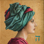 Turban Framed Prints - Hai Framed Print by Jose Luis Munoz Luque