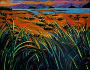 Queen City Paintings - Haida Gwaii Sunrise by Faye Dietrich