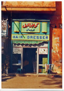 Luxor Prints - Hair Dresser Print by Elizabeth Hoskinson