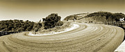 Europe Photo Originals - Hairpin on the A9 by Jan Faul