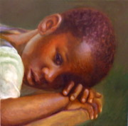Haitian Paintings - Haitis Hope by Dorothy Nalls