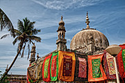Place Of Worship Photos - Haj Ali Mosque And Dargah by Benjamin Matthijs Lichtwerk