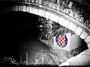 Hajduk Print by Ivica Vulelija