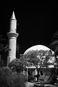 Kypros Framed Prints - Hala Sultan Tekke Mosque Larnaca Republic Of Cypru Framed Print by Joe Fox