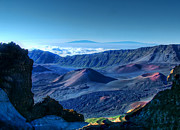Island Photos Photos - Haleakala Crater 1 by Ken Smith
