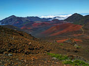 Island Photos Posters - Haleakala Crater 5 Poster by Ken Smith