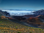 Island Photos Posters - Haleakala Crater 6 Poster by Ken Smith