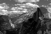 Mariposa County Prints - Half Dome and Clouds Rest Yosemite National Park Print by Troy Montemayor