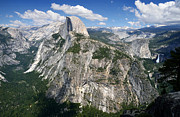 Nevada Falls Photos - Half Dome and Yosemite Valley in Yosemite National Park by RicardMN Photography
