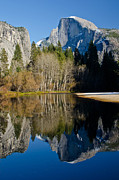 Merced River Prints - Half Dome Reflection Print by About Light  Images