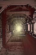 Hall Digital Art Prints - Hall of Light Print by Jon Palm