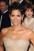 Halle Berry Prints - Halle Berry At Arrivals For The 83rd Print by Everett