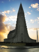 Lutheran Art - Hallgrimskirkja by Oliver Johnston