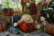 Autumn Photographs Prints - Halloween 80 Print by Joyce StJames