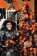 Autumn Photographs Prints - Halloween 93 Print by Joyce StJames