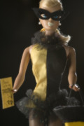 Ball Room Originals - Halloween Barbie  by Nicole Houff