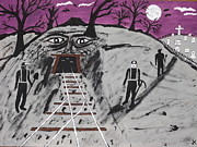 Shovel Originals - Halloween Haunted Coalmine by Jeffrey Koss