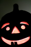 Jack-o-lanterns Photos - Halloween Jack o Lantern by Sami Sarkis