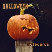 Halloween Paintings - Halloween Notecards... by Will Bullas
