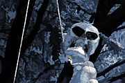 Frightening Mixed Media - Halloween Skeleton 2 by Steve Ohlsen