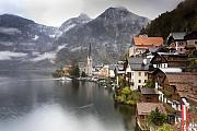 Mountain Scene Prints - Hallstatt Print by Andre Goncalves