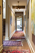 Wood Floors Prints - Hallway Print by Andersen Ross