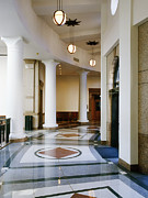 Hallway Photos - Hallway in Texas State Capitol by Jeremy Woodhouse