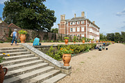 Ham House - Gardens Print by Donald Davis