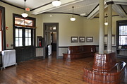 Trains Photos - Hamet North Carolina Depot by John Black