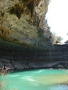 Hamilton Pool Photos - Hamilton Pool by Diana Ogaard