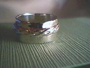 Sterling Silver Jewelry - Hammered Sterling Ring by HC Designs
