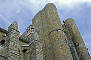 Scottish Digital Art - Hammond Castle detail - Gloucester MA by Suzanne Gaff