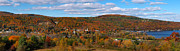 Schools Photo Prints - Hammondsport Panorama Print by Joshua House