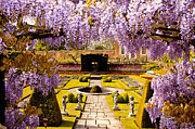Hampton Court Prints - Hampton Court Gardens III Print by Jon Berghoff