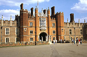 Hampton Court Prints - Hampton Court Palace Entrance London England Print by House Of Joseph Photography