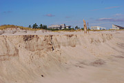 Hamptons Photos - Hampton Sand Wall by Andrea Simon