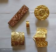 Emperor Sculptures - Han Dynastic Dao Jian Of Handmade Chinese Sword Fittings by Charles  Wu
